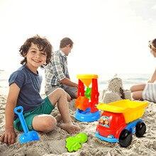 Beach-Toys Sandbox-Set-Kit Cart Kids Children for 10-20pcs Summer Play 4-