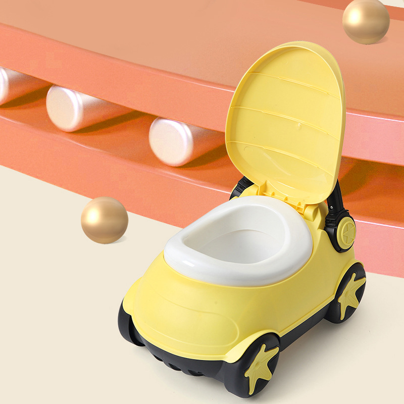 Car Toilet For Kids Baby Toilet Open Cute Plastic