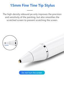 Image 2 - Stylus TouchปากกาสำหรับiPad 10.2 10.5 Pro 11 12.9 Samsung Galaxyแท็บเล็ตปากกาสัมผัสสำหรับHuawei Mediapad 10.8 matepad 10.4