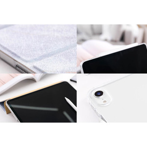 Image 3 - Trifold Case for iPad Air 3 2 2018 9.7 inch Mini 5 4 3 2 Flowing Sand Smart cover Case for ipad pro 12.9 2020 pro 11 10.5 9.7