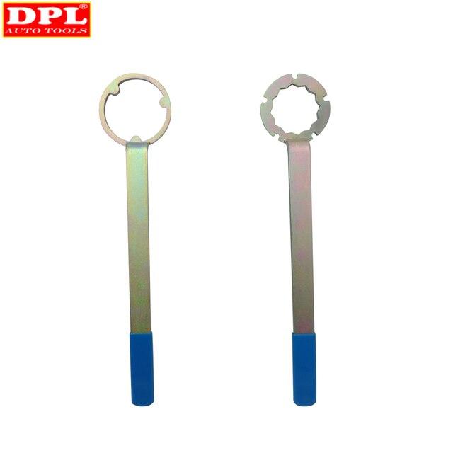 Dpl ferramenta de instalação remoção da correia dentada do motor conjunto para subaru forester árvore cames polia chave titular ferramenta reparo carro