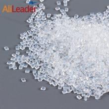 Alileader итальянский Кератиновый клей горшок для наращивания волос прозрачный белый цвет горячего плавления бусины Кератиновый клей зерна