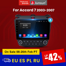 Junsun V1 AI Voice Control Android 10 4G Auto Radio Multimedia-Player Für Honda Accord 7 2005-2008 navigation Auto 2 din keine dvd