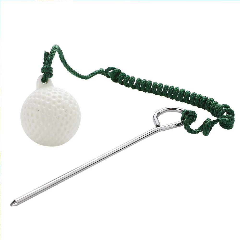 Practice Durable Hit Outdoor Accessory Training Aids Sport Practical Golf Ball Beginners Shot Plastic With Rope Swing