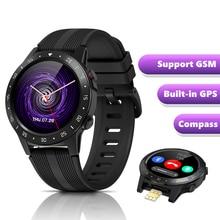 ساعة ذكية ساعة رياضية GSM بلوتوث دعوة لتحديد المواقع البوصلة بارومتر الارتفاع مقاوم للماء ساعة ذكية لنظام أندرويد آيفون