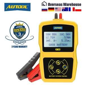 Analyzer Battery-Tester Charging-Scanner-Tool Diagnostic Automotive Digital 12V BT360