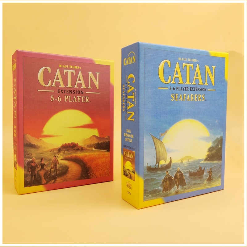NEW Family Board Game CATAN Ocean Core 5-6 Player Expansion Pack Accessories English Version