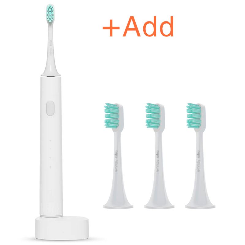 New XIAOMI MIJIA T500 Electric Toothbrush Smart Sonic Brush Ultrasonic Whitening Teeth vibrator Wireless Oral Hygiene Cleaner image