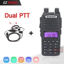 BaoFeng UV 82 8W Optionl 5W Baofeng UV 82 walkie talkie 10 KM Baofeng 8W prosciutto Radio 10 KM Dual PTT 82HP UV 9R GT 3TP UV 5R
