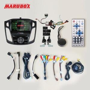 Image 5 - MARUBOX araba radyo Android 10 Ford Focus 3 için 2011 2018 araç DVD oynatıcı oynatıcı GPS navigasyon ses otomatik 8 çekirdek 64G, IPS, DSP KD9019