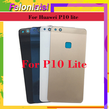 10pcs/lot For Huawei P10 Lite Battery Glass Cover Nova