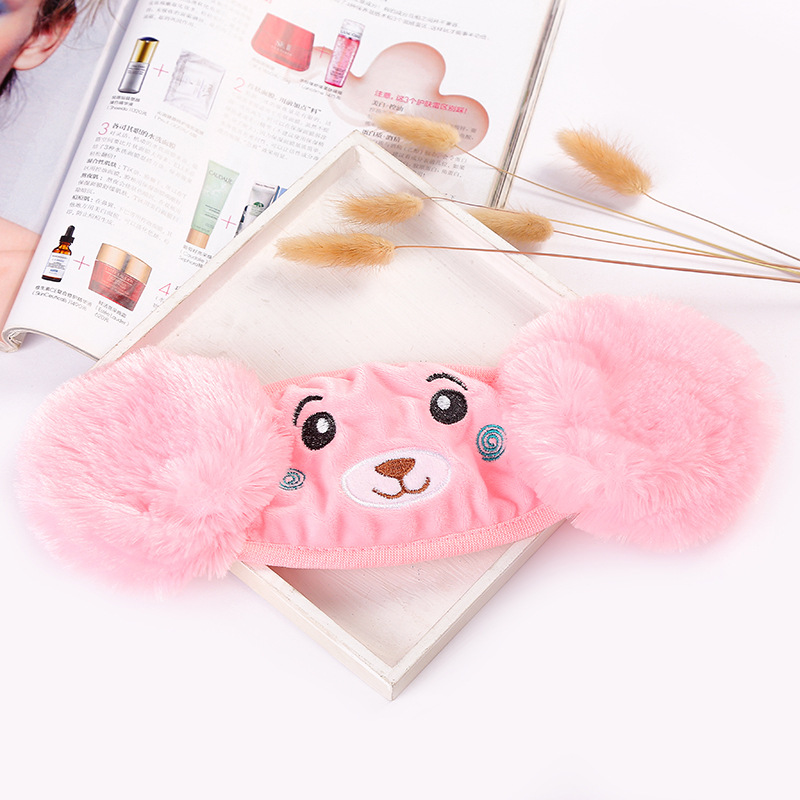Winter New Multicolored Women's Cartoon Ear Mask, Pure Cotton Inner Bear Bear Student Two In One Warm Mask Gifts