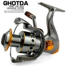 Spinning Fishing Reel 1000-7000 Size 13BB Aluminium Spool Carretes De Pesca Para Mar