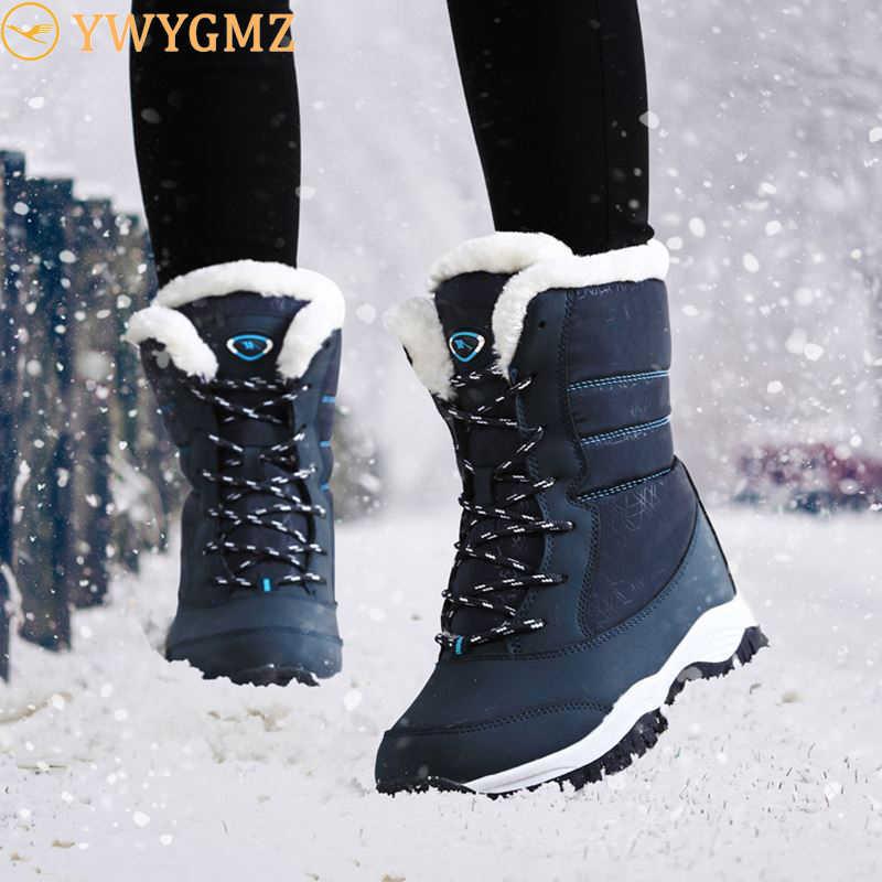 NAUSK Women Boots Non slip Waterproof
