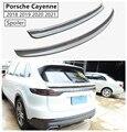 Спойлер из углеродного волокна для Porsche Cayenne 2018 2019 2020 2021 Спойлеры для крыла высокое качество аксессуары для модификации автомобиля