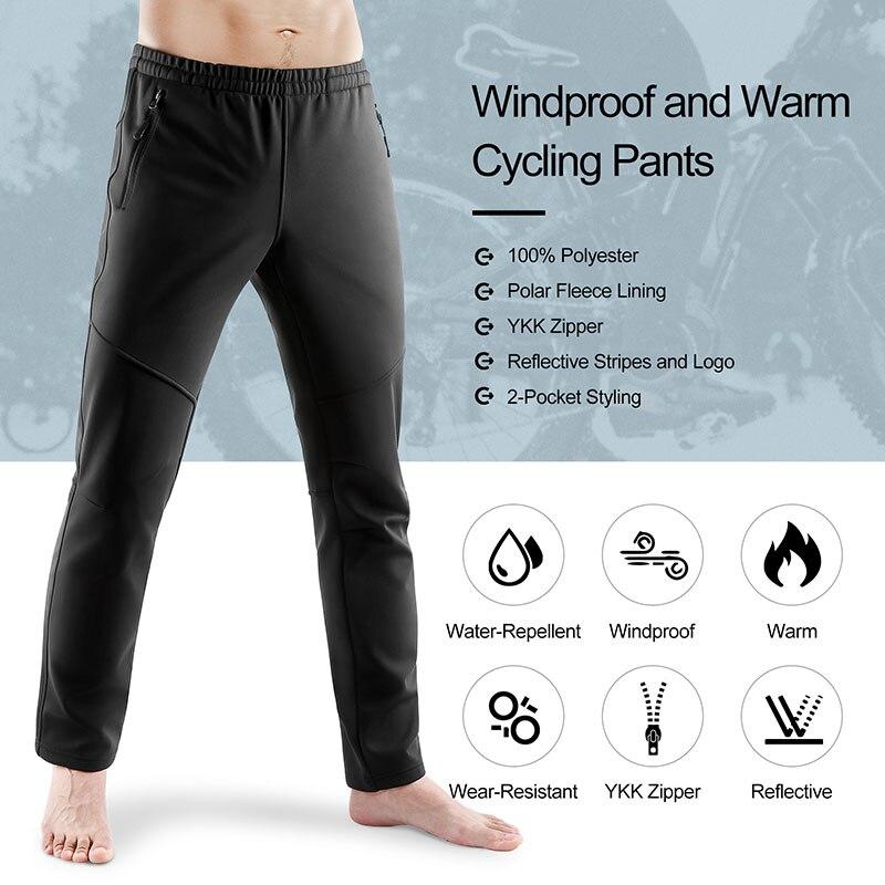 INBIKE Pantalon Randonn/ée Camping De Sports Homme Pantalons Sportswear Imperm/éable Coupe-Vent Bas de Surv/êtement Hiver
