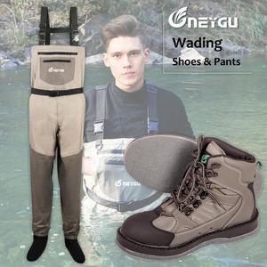 Image 1 - NEYGU waders de poitrine imperméables et ventilés, bottes à semelle en feutre pour sports nautiques, waders de pêche pour adultes pour planche