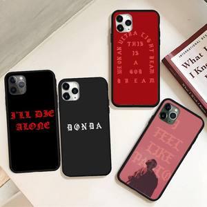 Цветной чехол для телефона с текстовым узором для iPhone 11 12 pro XS MAX 8 7 6 6S Plus X 5S SE 2020 XR