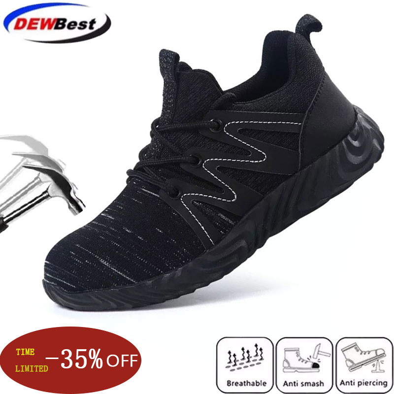Puncture, Casual, Safety, Work, Outdoor, Shoes