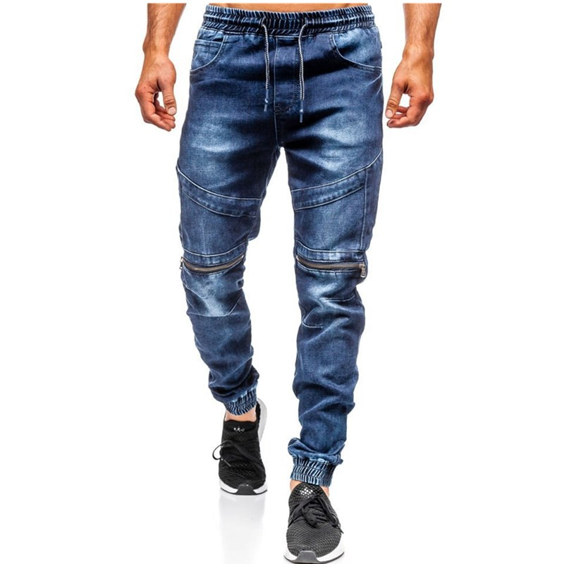 2020 New Cotton Jeans Men High Quality Famous Brand Denim Trousers Soft Mens Pants Spring Jean Fashion Casual Slim Cheap