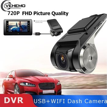 Vehemo ADAS USB Mini Dash Cam Car Camera Auto DVR Full 1080P HD Electronic Video Recorder Android Vehicle Dashcam Multimedia player image