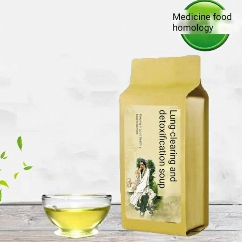 Chinese Herbal-medicine Tea Lung-clearing And Detoxification Soup For Treatment Of Coronavirus-COVID-19-kit Fast Delivery