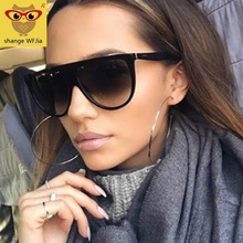 Oversized Sunglasses Women 2020 Brand Designer Retro lunette