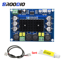 TPA3116D2 Dual-Channel Stereo Power Digital Amplifier Board 2*120W Audio Amplifiers For Home Theater Amp DIY With Thermal Paste tda7498 bluetooth amplifier audio board dual channel 2x50w stereo amp digital power amplifiers support tf card aux home theater