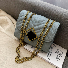 Fashion Lingge Chains Women Shoulder Bags Designer Chic Lock Messenger Bag Luxury Pu Leather Crossbody Bag Small Flap Lady Purse fashion designer flap lady brand women shoulder bag chains swallow lock messenger bags genuine leather handbag original quality