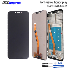 For Huawei Honor Play COR-L29 LCD Display Touch Screen Assembly Digitizer For Huawei honor play LCD Screen LCD Display for alcatel one touch go play ot7048 lcd screen display touch screen digitizer assembly free shipping