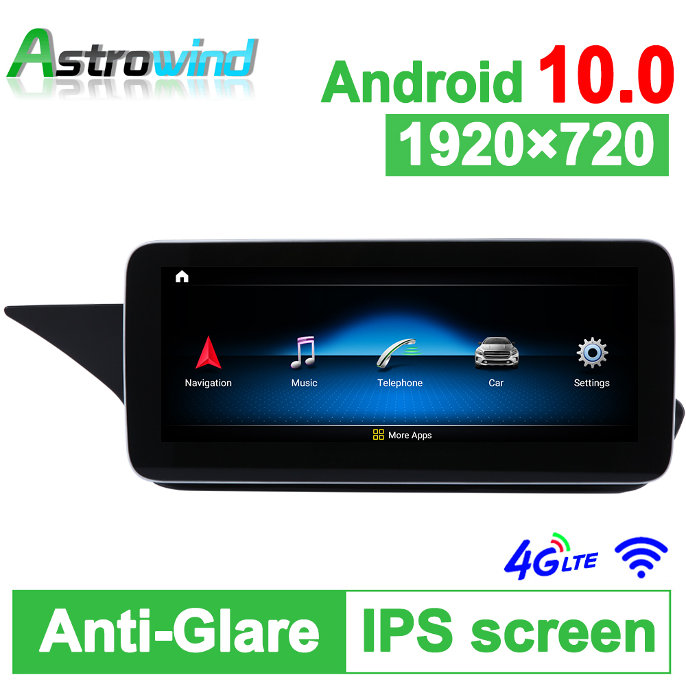 """D-1212,10.25"""" 8 Core Android 10.0 System Car GPS Navigation Media Stereo Radio For Mercedes-Benz E W212 S212 2015 2016"""