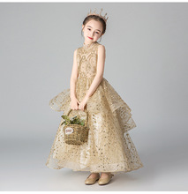 Kids Pageant Evening Gowns 2019 Ball Gown Flower Girl Dresses For Weddings First Communion Dresses For Girls flower girl dresses for weddings lace ball gown long sleeves kids evening gown first communion dresses for girls pageant dress