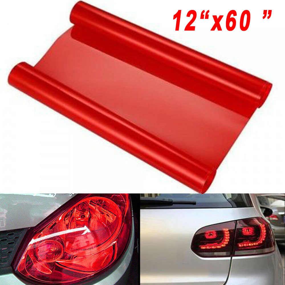 Samochodowe Auto zewnętrzne reflektory boczne Vinyl 150x30cm części folii ochronnej