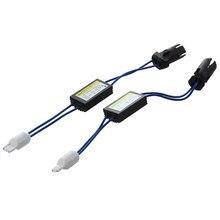 1pc t10 canbus cabo 12v led aviso cancelador decodificador 501 t 10 w5w 192 168 luzes do carro nenhum erro canbus ocb carga resistor