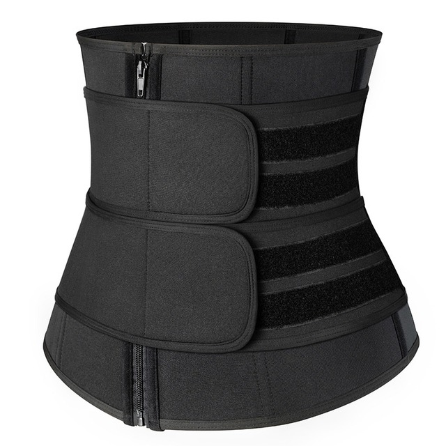 2020 New Waist Trainer Corset Sweat Belt For Women Weight Loss Compression Trimmer Workout Fitness 4