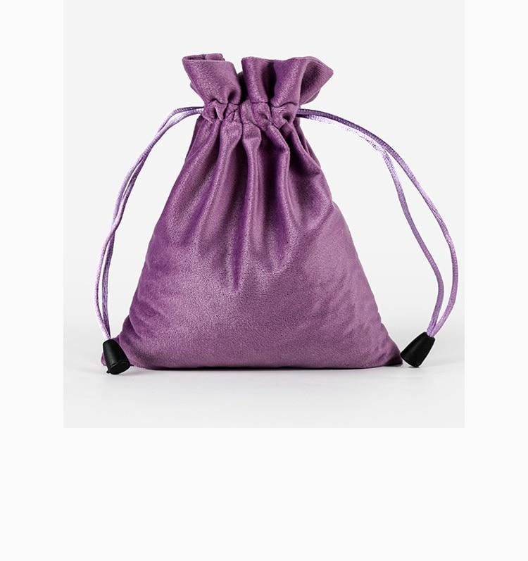20pcs/lot High Quality 9x12cm Black/Purple/Brown/Grey/Green Velvet Drawstring Pouch Gift Packing Bags