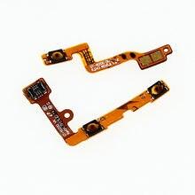 5 pçs/lote volume de energia botão chave cabo flexível para samsung galaxy mega 6.3 i9200 i9205 i527 l600 r960 m819n peças reparo