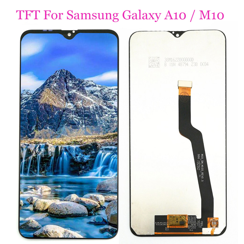 TFT <font><b>LCD</b></font> For <font><b>Samsung</b></font> Galaxy <font><b>A10</b></font> A105F/M10 M105F/A10S A107F <font><b>LCD</b></font> Display Touch <font><b>Screen</b></font> Digitizer Assembly Adjustable image