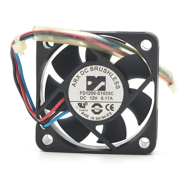 Tajwan dla ARX 5015 fd1250-s1033c 12V 0.12a 5 CM/cm ładowarka wentylator