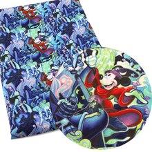 50*145 см полиэстер хлопок мультфильм печатных Лоскутная Ткань для ткани Дети Домашний текстиль для шитья куклы наволочки, c2848