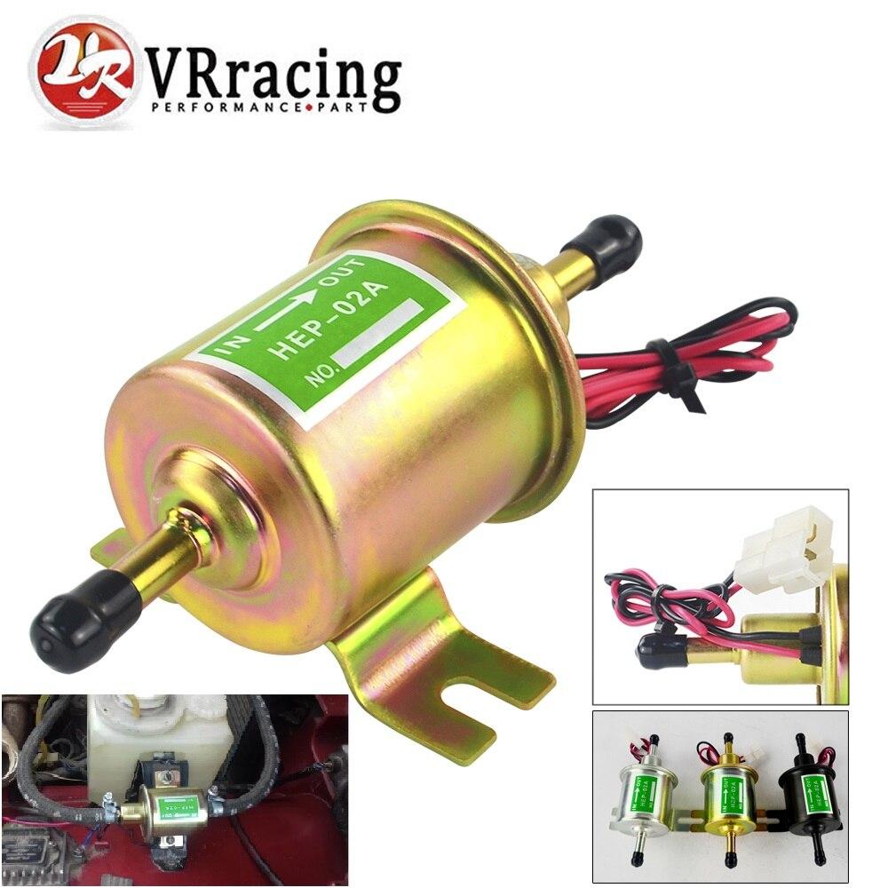 3 색 범용 12V 전기 연료 펌프 저압 볼트 고정 와이어 디젤 가솔린 HEP-02A 자동차 기화기 오토바이 atv에 대 한