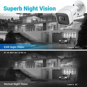 Image 5 - ANNKE 4K Ultra HD Video Überwachung Kamera System 8CH 8MP H.265 DVR Mit 4PCS 8MP Outdoor Wetter Sicherheit kamera CCTV Kit