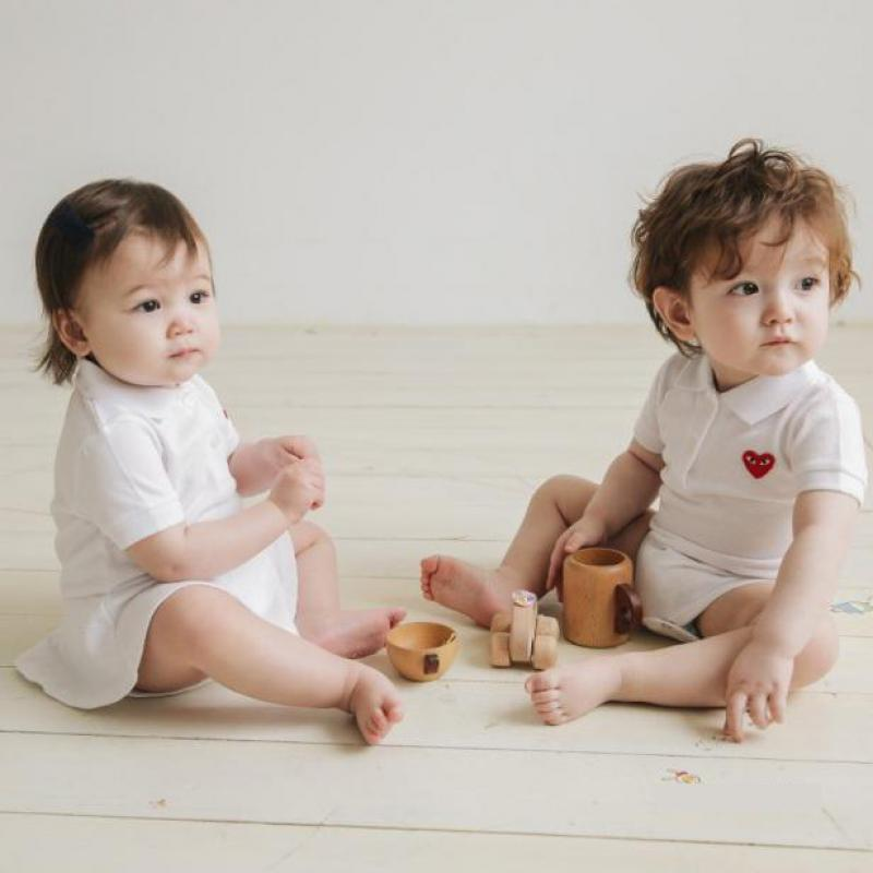 Baby Bodysuit Short Sleeve Jumpsuit Newborn Striped Bodysuit Clothes Girl Boy Onesie Summer Baby Clothing