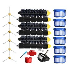 Vacuum Filter Brush Tool Kit For IRobot Roomba 600 614 650 6