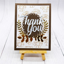 Naifumodo Letter Thank You Metal Cutting Dies for Card Making Scrapbooking Embossing Cuts Stencil Craft New 2019