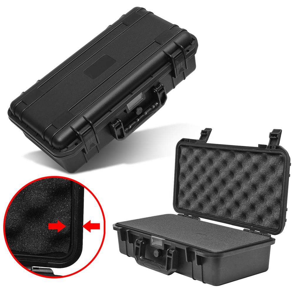Protective Safety Instrument Case Toolbox Shockproof Waterproof Tool Case Impact Resistant Plastic Suitcase With Sponge