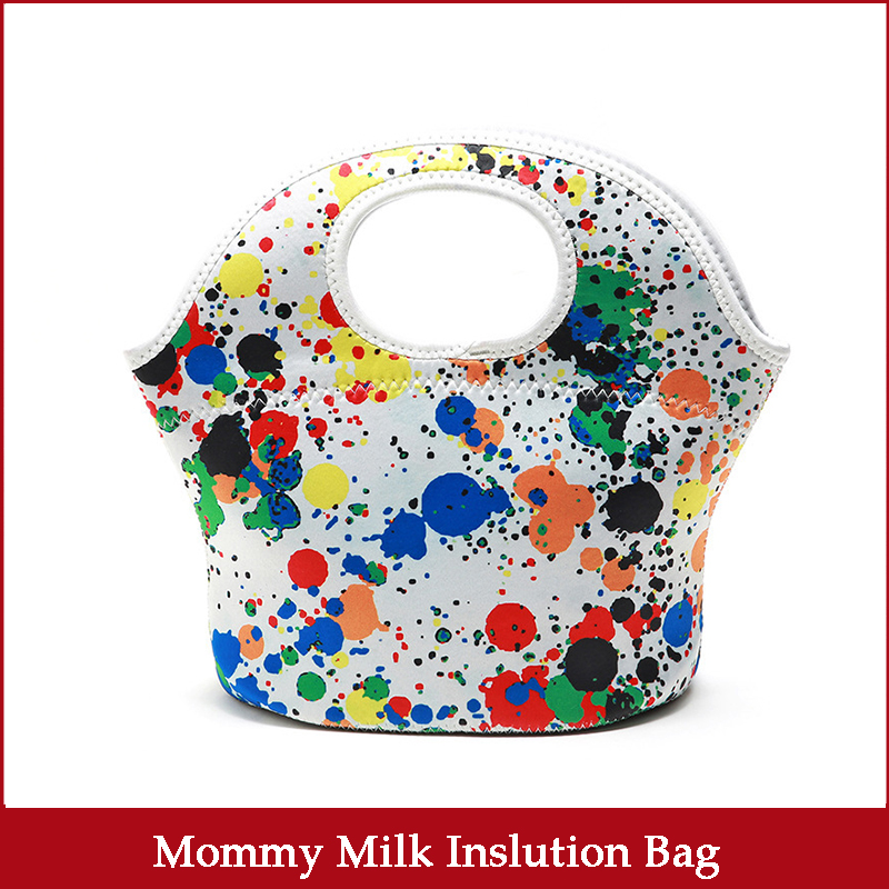 Bag Mommy Strolle Tote Milk Bottle Lunch Inslution Thermo Baby Food Storage Warmer Breastmilk Cool Mummy Mom Travel Nursing Bags