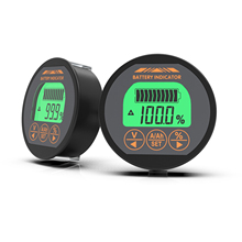 DC 8-80V 100A TR16 Battery Tester Battery Capacity Monitor Indicator Ammeter Voltmeter Voltage Current Meter For Lithium Battery