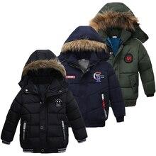 Куртка для маленьких мальчиков г. Осенне-зимняя куртка для мальчиков, Детская куртка детская теплая верхняя одежда с капюшоном, пальто для мальчиков, одежда От 2 до 5 лет