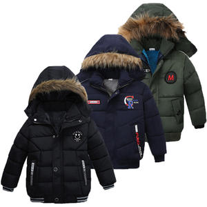 Winter Jacket Coat Outerwear Hooded Baby-Boys Autumn Kids for Children Warm 2-3-4-5-Year
